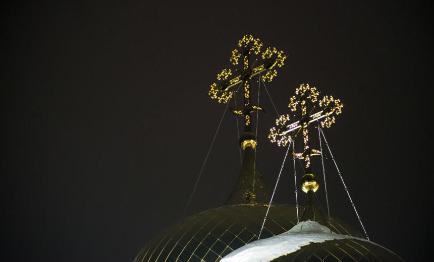 Крещенская ночь в Раифском монастыре. Фоторепортаж