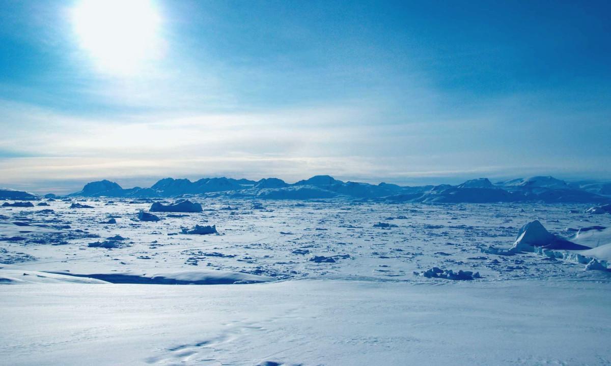 Картинка арктической пустыне