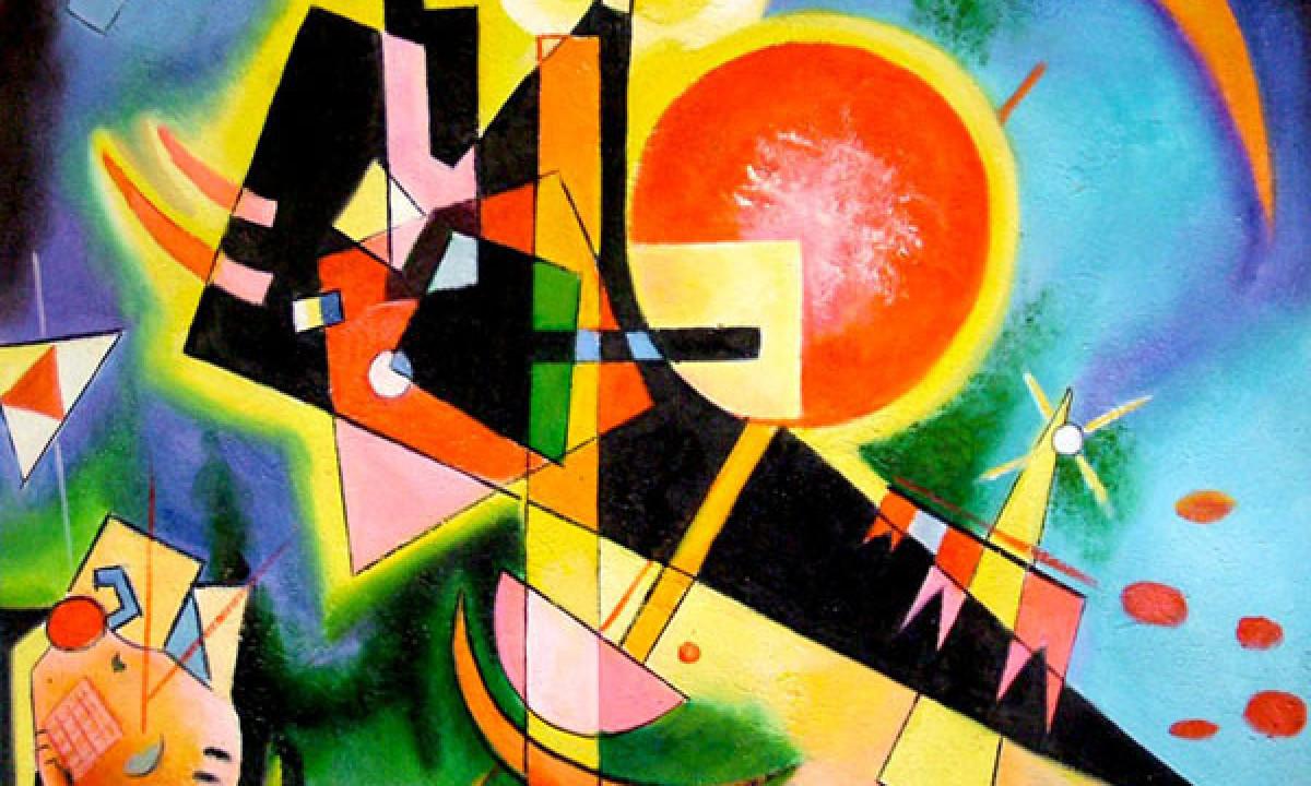 kandinsky paintings guggenheim - 600×500