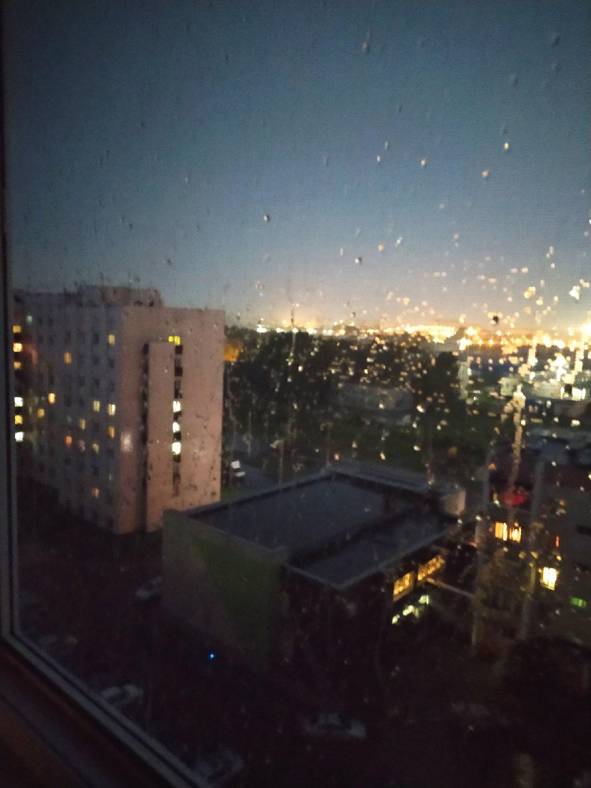 В Борисково также дождит.