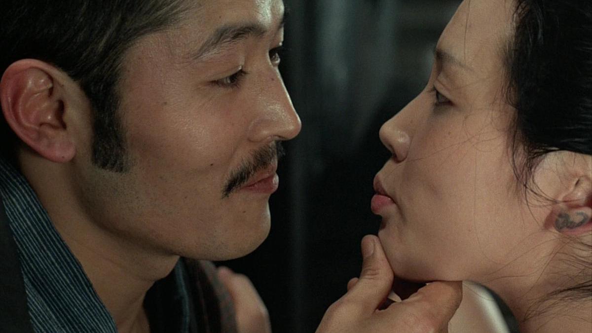 Кадр из фильма «Империя чувств», режиссер Нагиса Осима