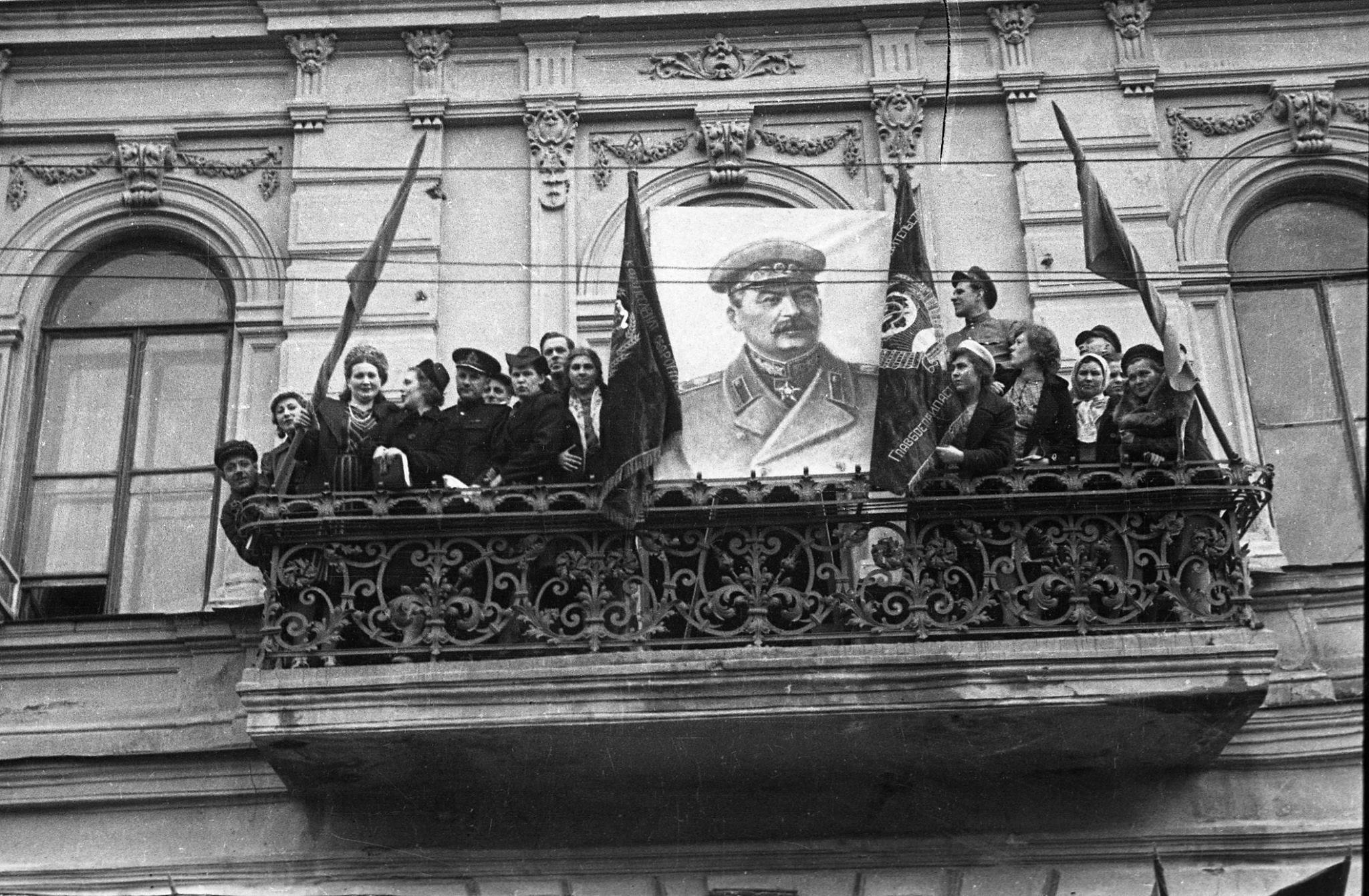 День Победы на улице Баумана