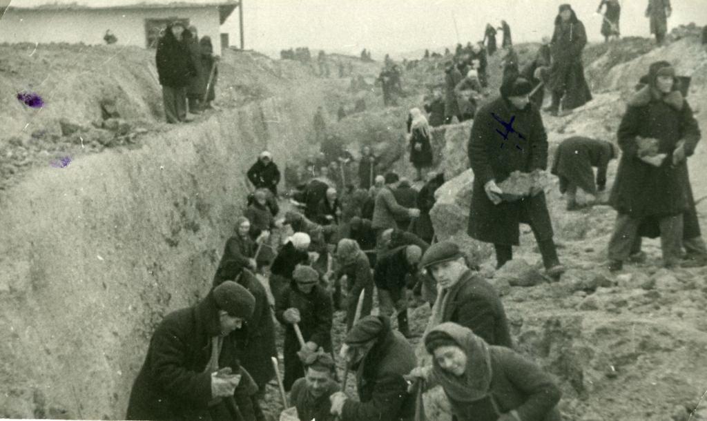 Строительство оборонительных рубежей «Казанского обвода». 1941