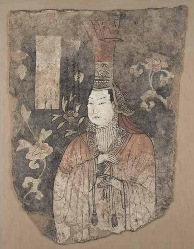 Портрет высокопоставленной дамы в бокке, вторая половина XIII – XIV в