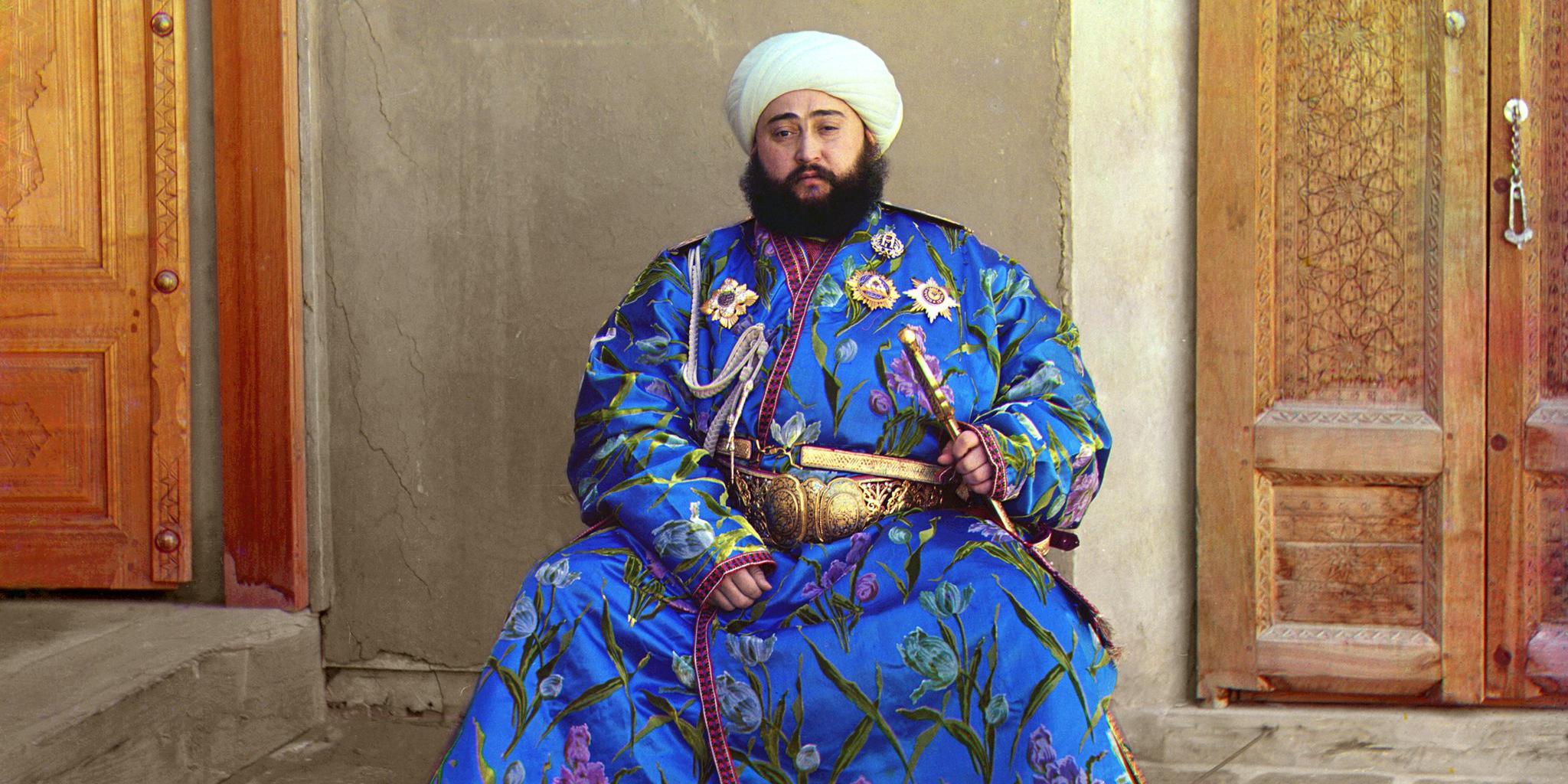 Бывший эмир Бухары Сеид Алим-хан