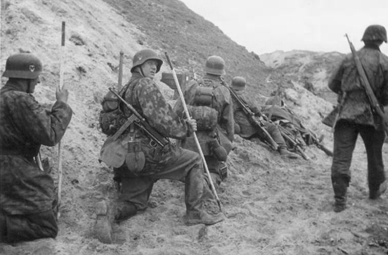 Немецкие подразделения в горах Афганистана