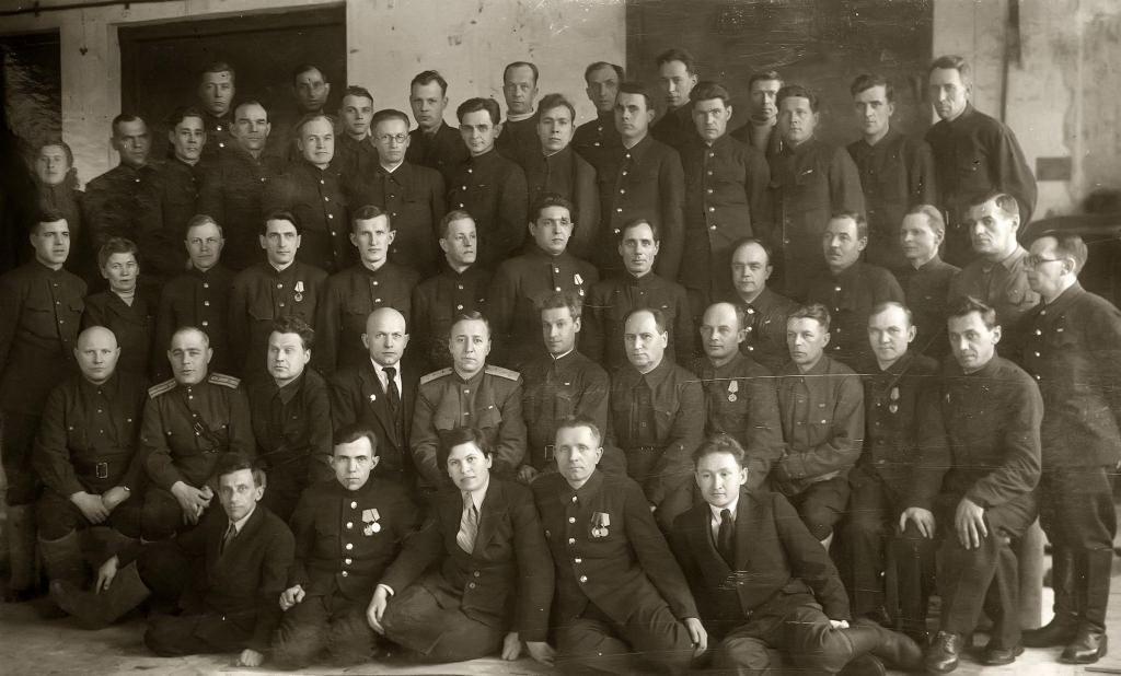 Руководящий состав завода № 387. 1940-е