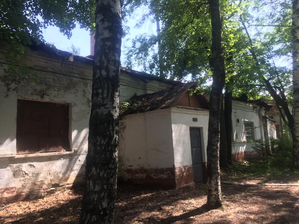 Летом 2019 года прогулка Балтусовой по территории госпиталя была такой.