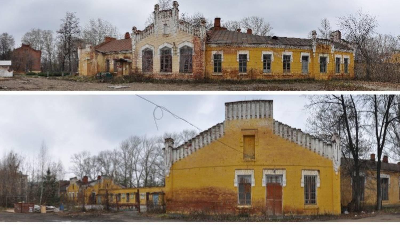 В 2015 году пытались защитить и эти дома Октябрьского городка.