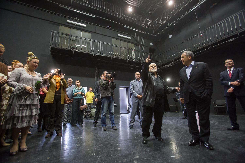 Открытие здания театра после ремонта