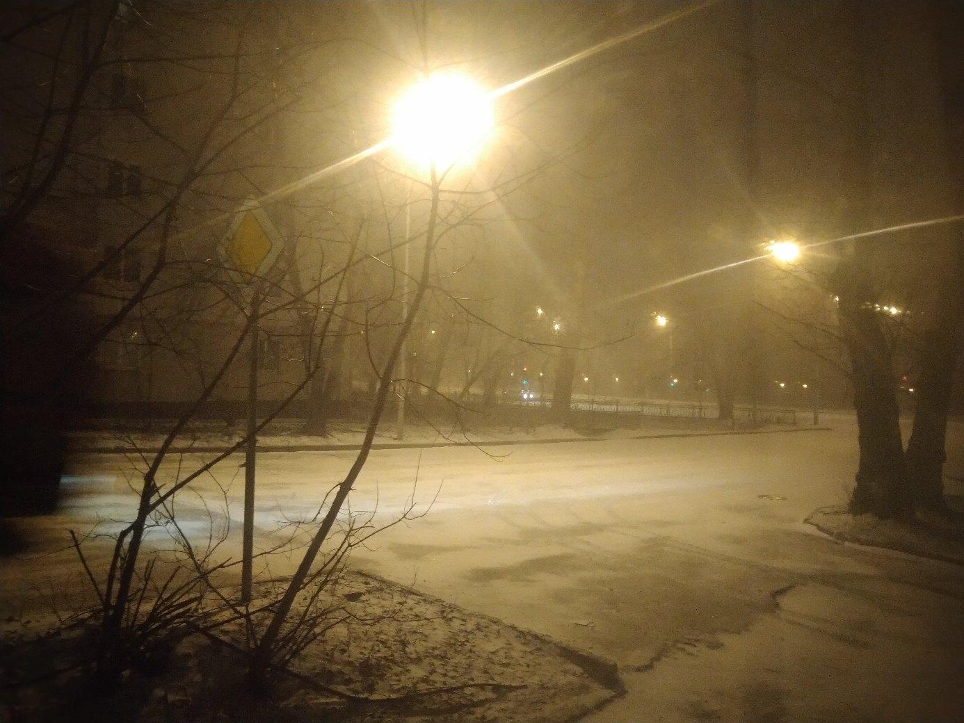 Пользователь с ником Ицки Коидзуми увидел снежный город таким.
