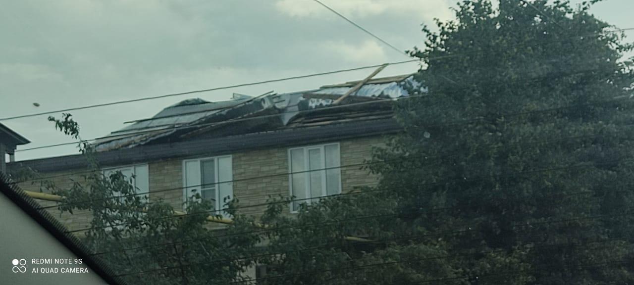 Так летала крыша в Мамадыше.
