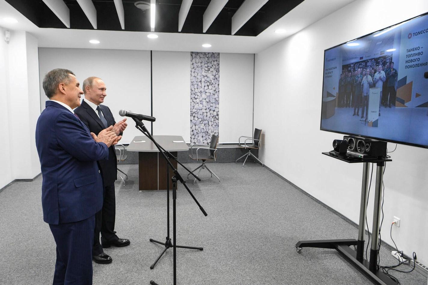 Фото: Марат Хусаинов, пресс-служба президента РТ