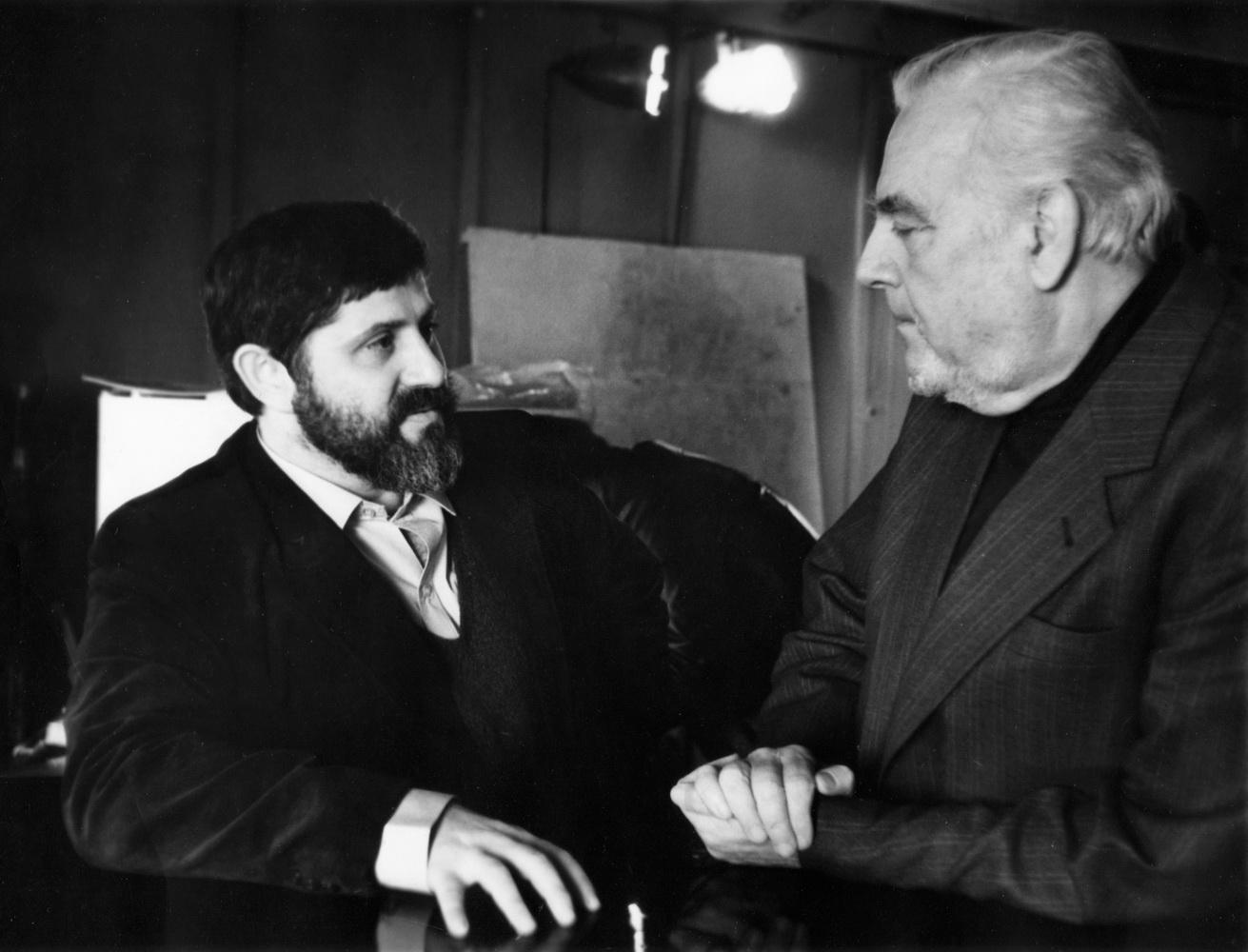 Александр Славутский и Андрей Гончаров