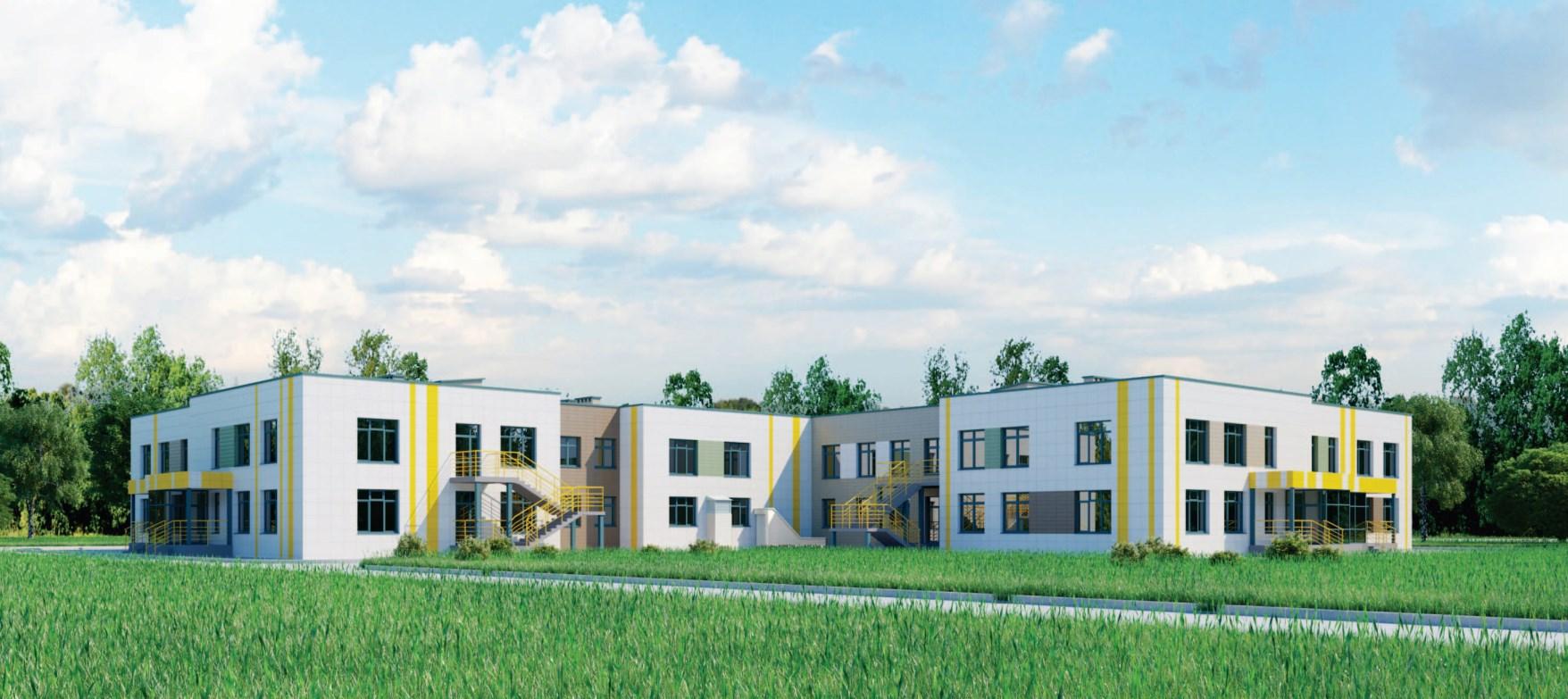 Проект детского сада на 220 мест