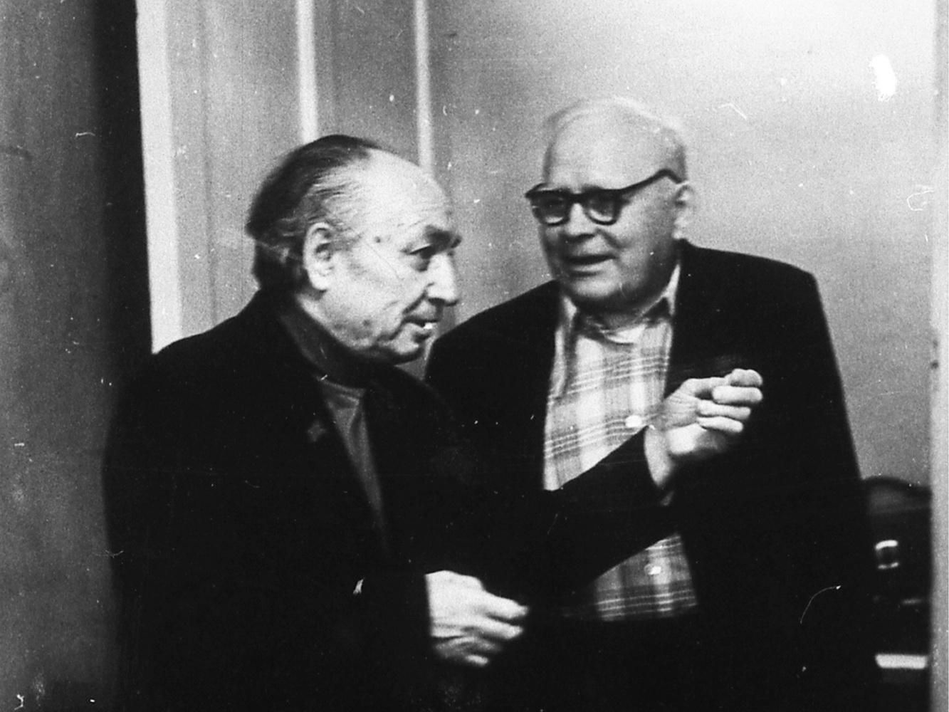 Назиб Жиганов и Баки Урманче