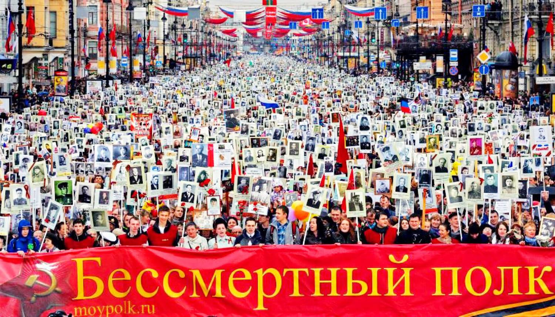 В акциях «Бессмертного полка» на Дальнем Востоке приняли участие более полумиллиона человек