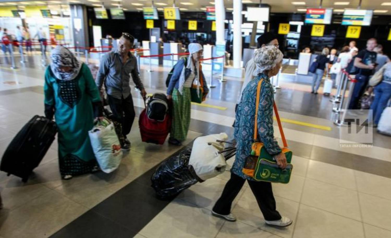 Первые в2015-м году 98 паломников изТатарстана направились вхадж