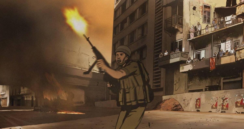 Кадр из фильма «Вальс с Баширом», режиссер Ари Фольман, Израиль, 2008