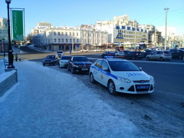 ВКазани задержали стрелявшего ввоздух участника свадебного кортежа