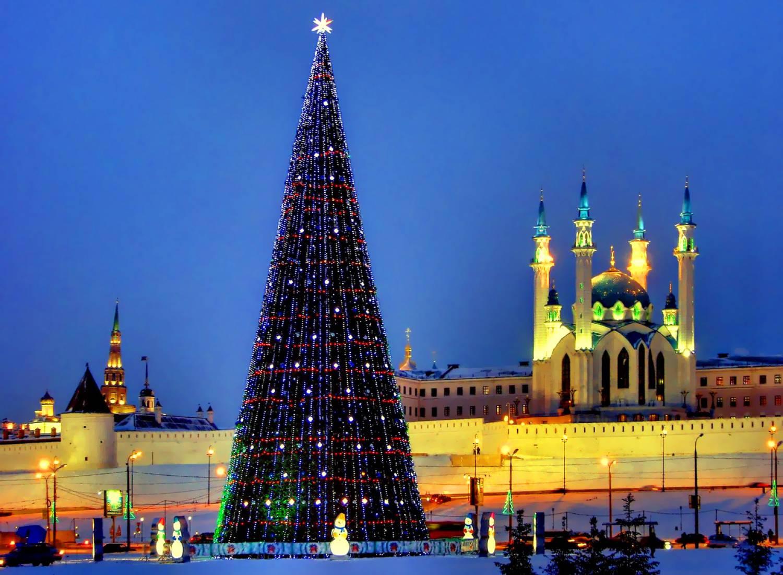 фото новогодней елки в казани отдыхать кипр мужем