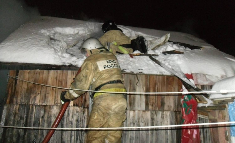 Три человека стали жертвами пожара в личном доме вКазани
