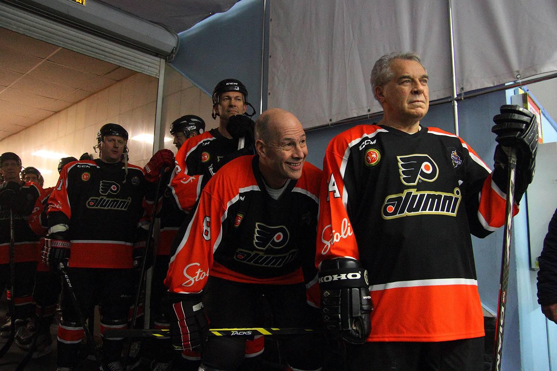Ветераны «Филадельфии Флаерз» в Дворце спорта