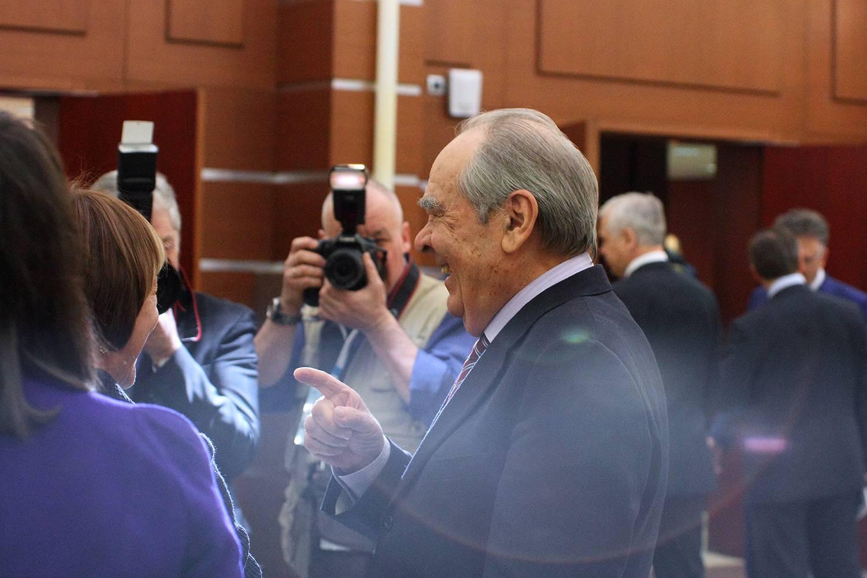 Минтимер Шаймиев перед заседанием Госсовета.