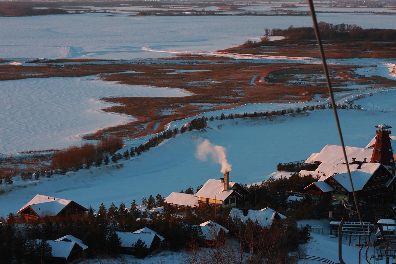Долина Свияги с подьемника ГСК  «Свияжск»