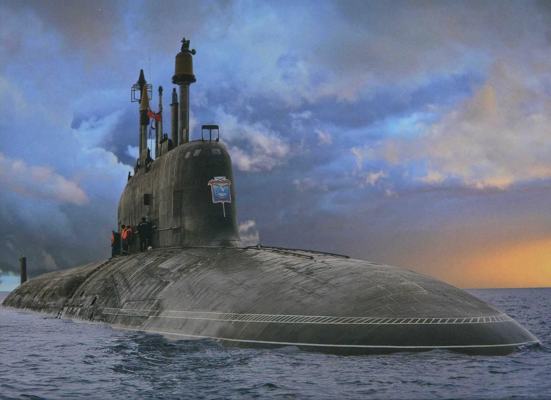 подводные лодки ракетные вмф рф