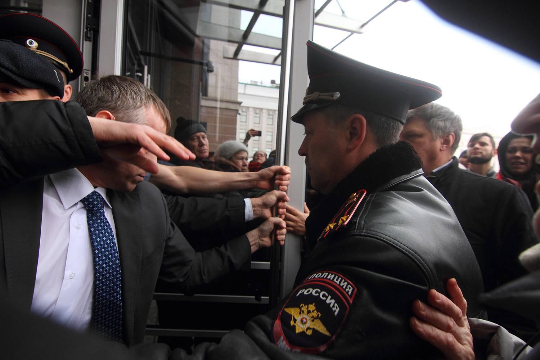 Вкладчики ТФБ штурмуют Кабмин