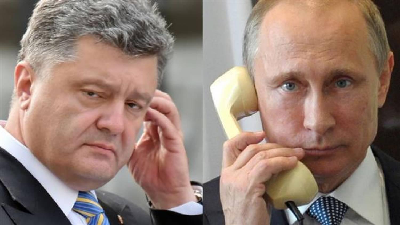 Порошено рассказал о чем говорил с Путиным