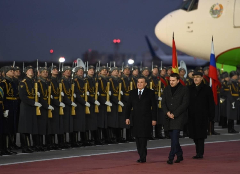 Делегация президента Узбекистана посетила Москву в апреле 2017 года