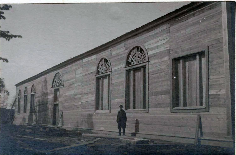 Здание, где хранилась галера. Фото  из коллекции П. Корнилова, конец 1920-х годов. Собрание Национального музея РТ
