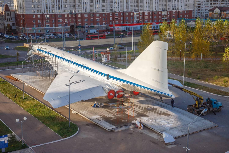 Самолет Ту-144 в новой старой ливрее. Фото: Владимир Васильев