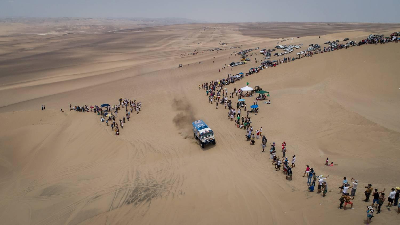 «Дакар-2018»: после 6 этапа Вязович сохранил 3 место вгрузовом зачете