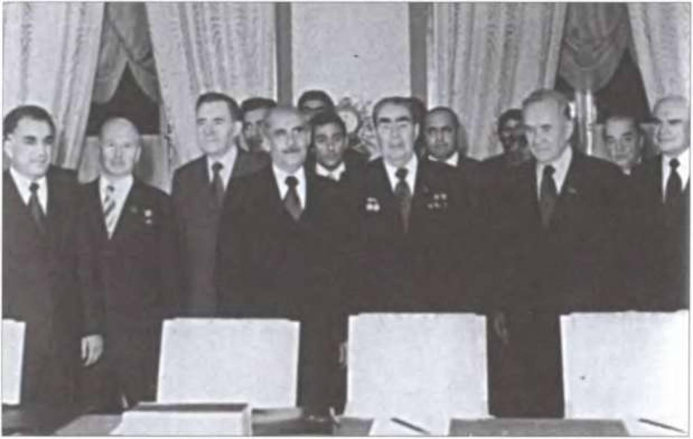 Подписание «Договора о дружбе, добрососедстве и сотрудничестве между СССР и Демократической Республикой Афганистан (ДРА)»
