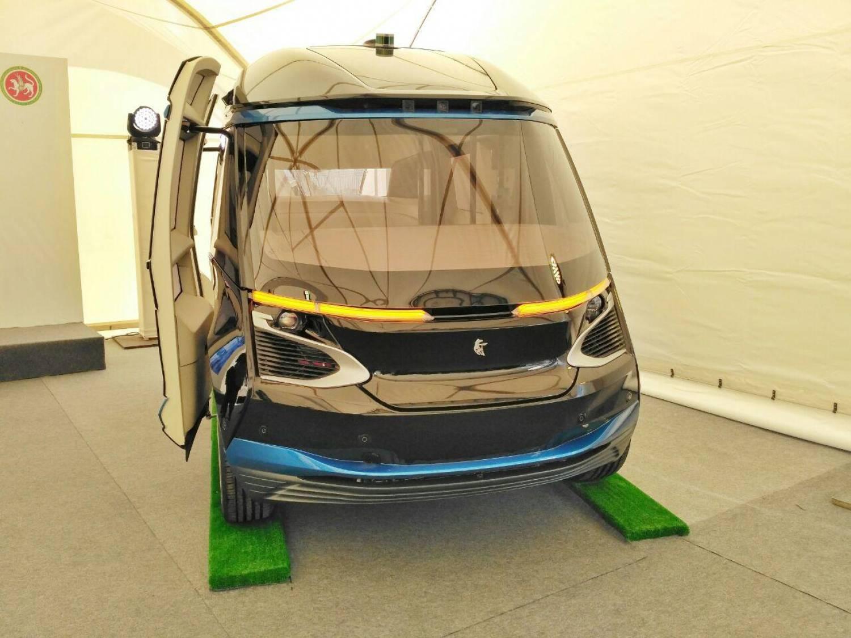 «Камаз» представил вКазани беспилотный электробус «ШАТЛ»