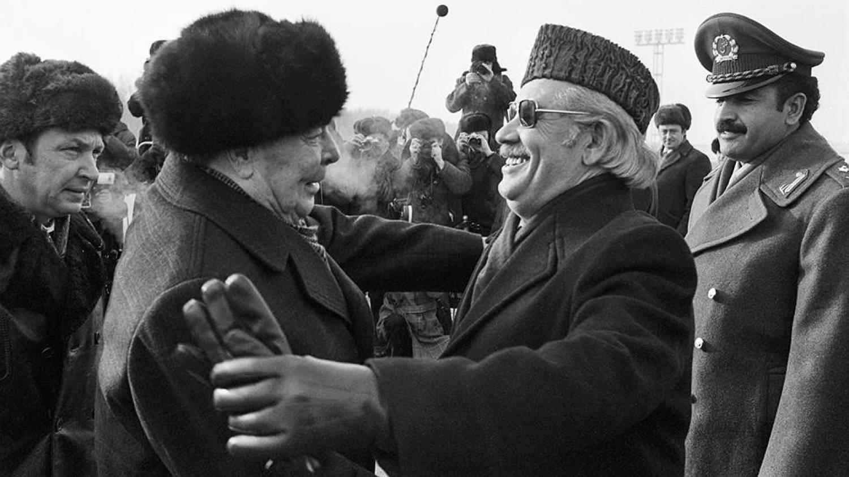 Встреча Леонида Брежнева и Нур Мохаммада Тараки